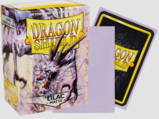 Dragon Shield -  Matte Lilac 100
