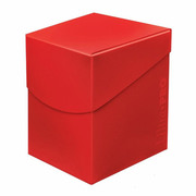 Deck Box Pro Apple Red 100+ -Eclipse Series-