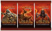 3x Booster VF L'Age de la Destruction
