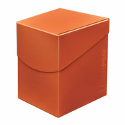 Deck Box Pro Pumpkin Orange 100+ -Eclipse Series-