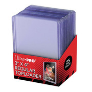 Ultra-Pro Regular Toploader 3 x 4 - 25 pack