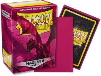 Dragon Shield -  Matte Magenta 100