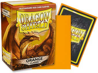 Dragon Shield - Orange 100