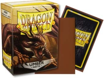 Dragon Shield -  Matte Umber 100