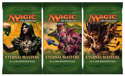3x Booster ANGLAIS Eternal Masters - Draft Set