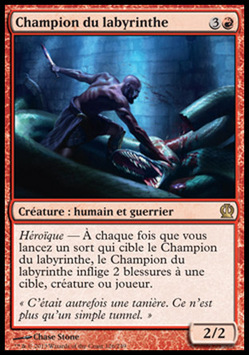 Champion du labyrinthe