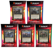 COMMANDER 2020 - les 5 packs VF