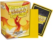 Dragon Shield -  Matte Yellow 100