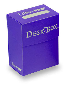 Deck Box Purple