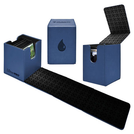 Deck Box Alcove Flip Box Blue Mana -Nouvelle version-