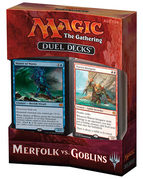 Duel Deck : Merfolk vs Goblins