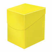 Deck Box Pro Lemon Yellow 100+ -Eclipse Series-