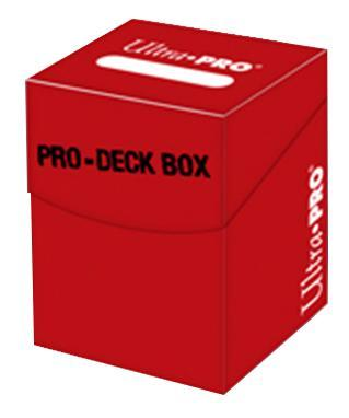 Deck Box Pro Red 100+ -Nouveau format-