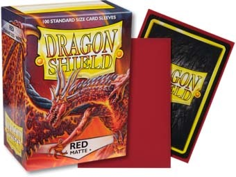 Dragon Shield -  Matte Red 100