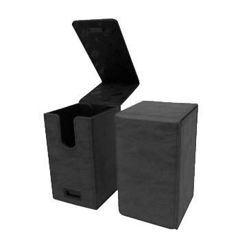 Deck Box Alcove Tower Jet Suede Collection