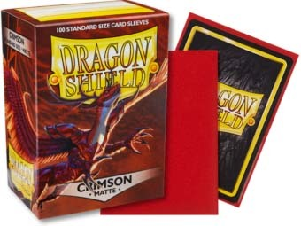 Dragon Shield -  Matte Crimson 100