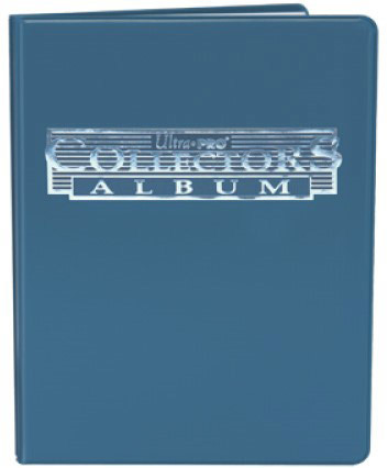 Portfolio Ultra-Pro bleu - 4 cartes / 10 pages